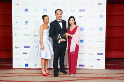 Cellite-Clinic-Best-Clinic-Wales-Award-2016-at-the-Aesthetic-Awards